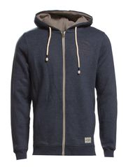 RUGGED ZIP HOODIE SWEAT JJVC NOOS - Total Eclipse