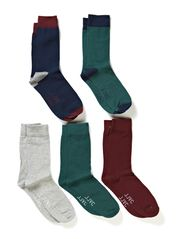 CYROS 5-PACK SOCKS JJVC 7-8-9 2014 - Light Grey Melange