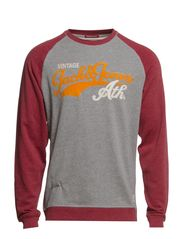 FIELD CREW NECK SWEAT T&F - Port