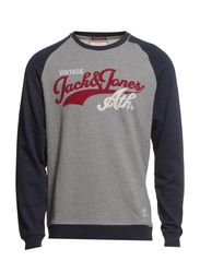 FIELD CREW NECK SWEAT T&F - Total Eclipse