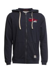 FIELD SPORT ZIP HOOD SWEAT T&F - Total Eclipse