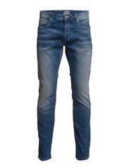 JJVCCLARK ORIGINAL JOS 317 NOOS - Blue Denim