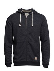 jjvcRECYCLE SWEAT ZIP HOOD NOOS - Dress Blues