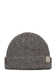 jjvKASPER KNIT BEANIE - LIGHT GREY MELANGE