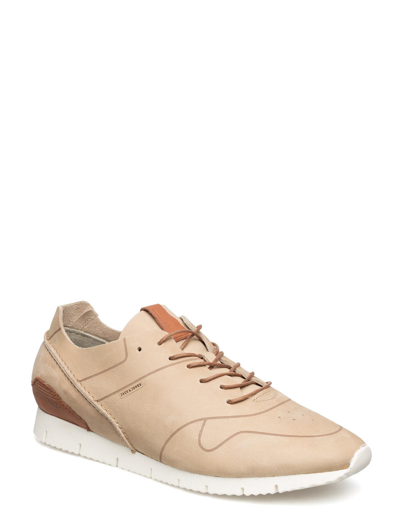 Jjrobson Leather Sneaker Plaza Taupe Jack & Jones Sneakers til Herrer i