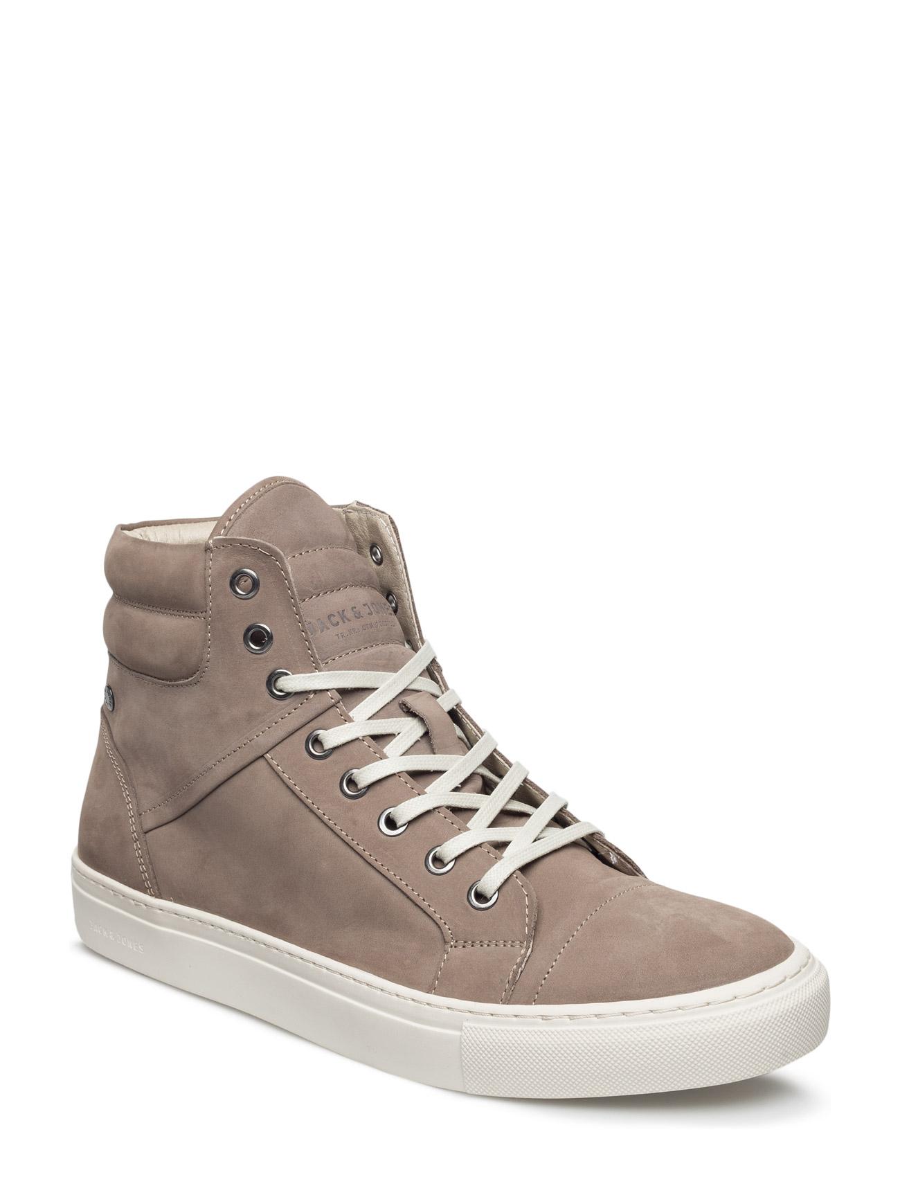 Jfwkenton Nubuck Sneaker Taupe Gray Jack & Jones Sneakers til Mænd i