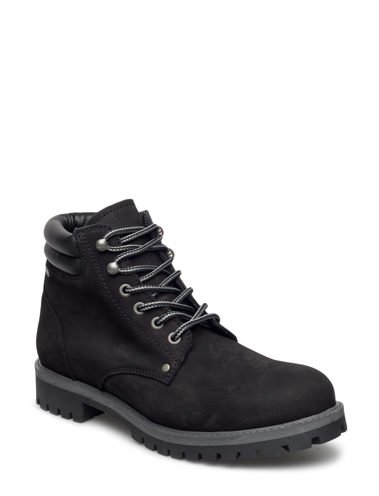 Jfwstoke nubuck boot black fra jack & jones på boozt.com dk