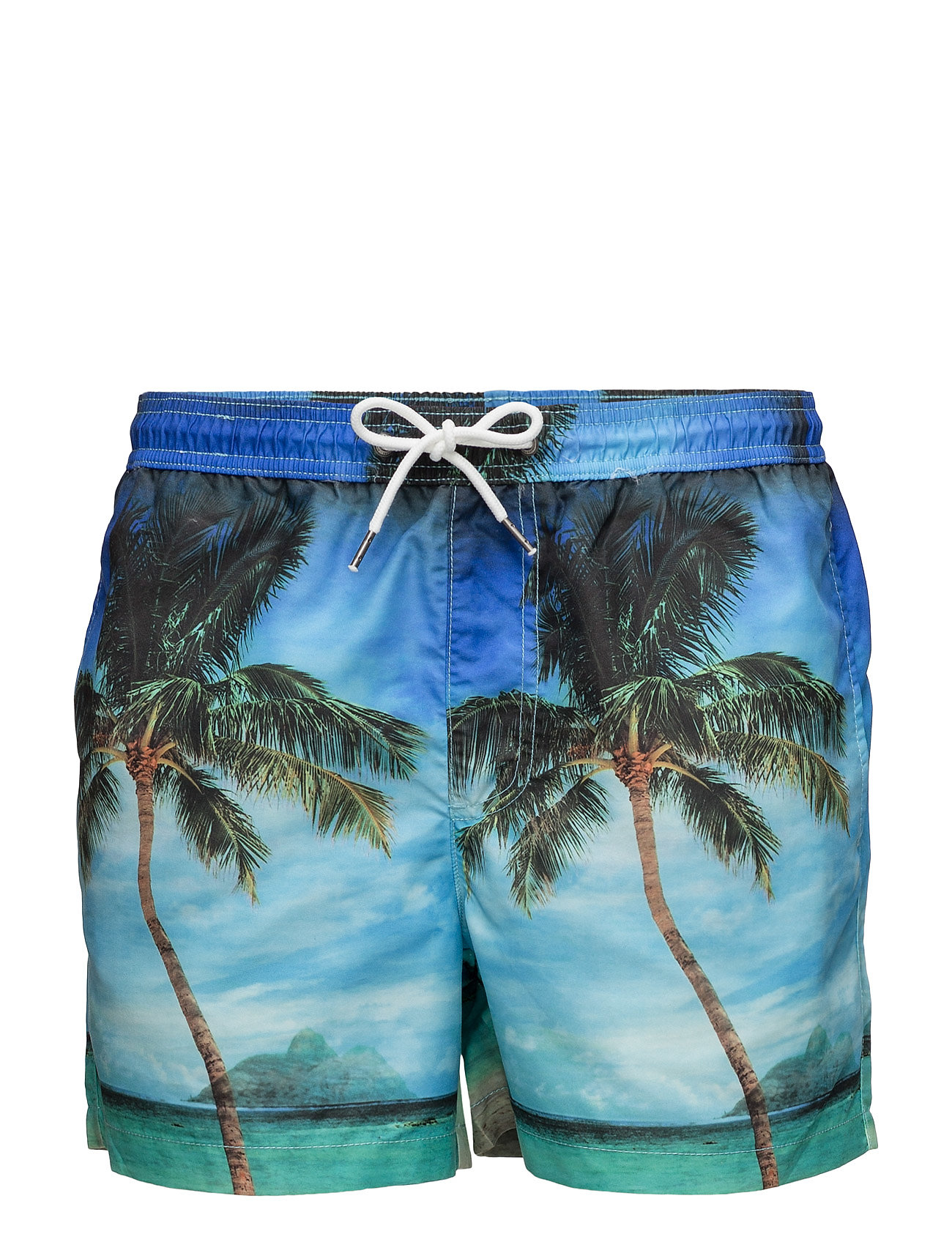 Jjisunset Swim Shorts Sublimation Ww Jack & Jones Badetøj til Mænd i Navy Blazer