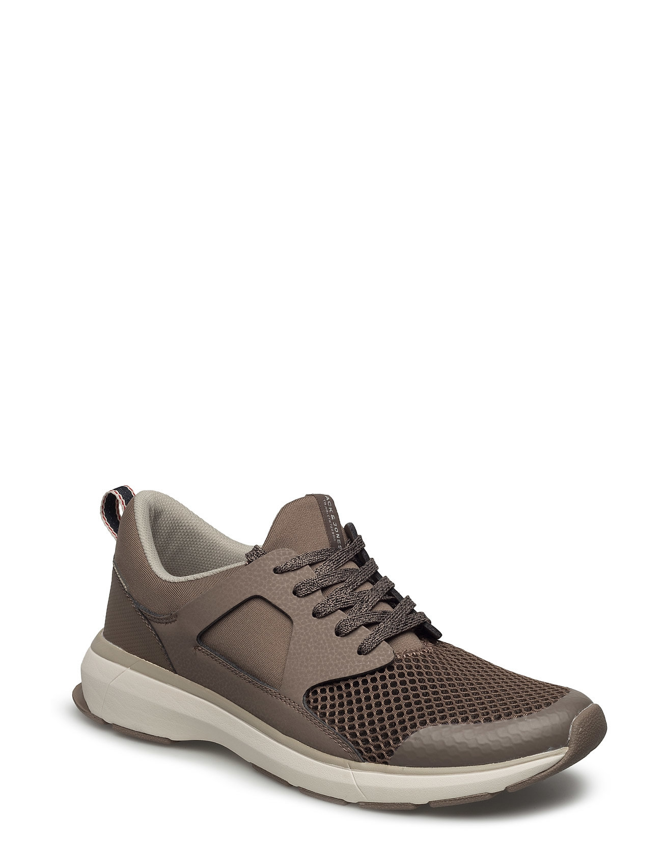 Jfwhatton Mesh Taupe Grey Jack & Jones Sneakers til Herrer i