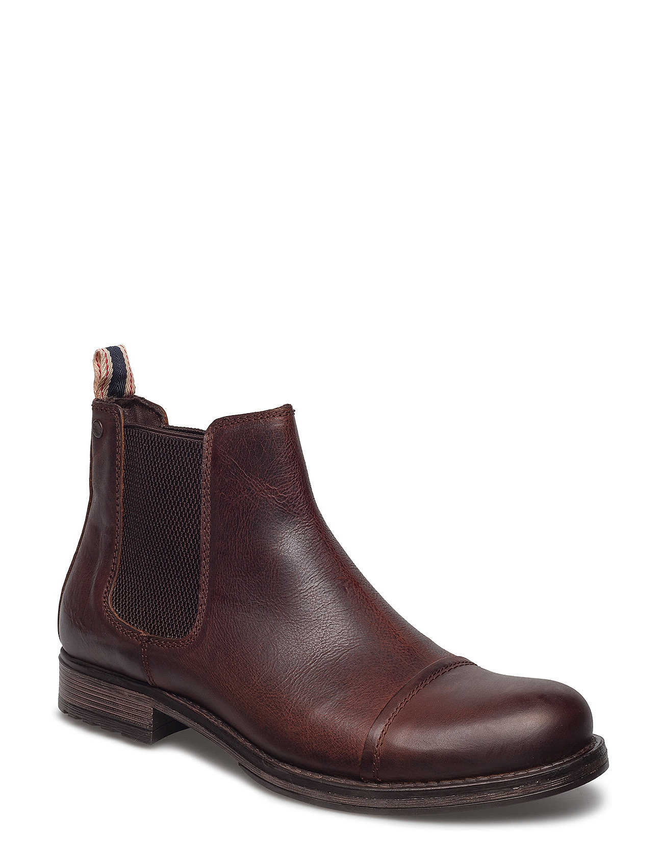 jack & jones – Jfwgreg leather chelsea brown stone fra boozt.com dk