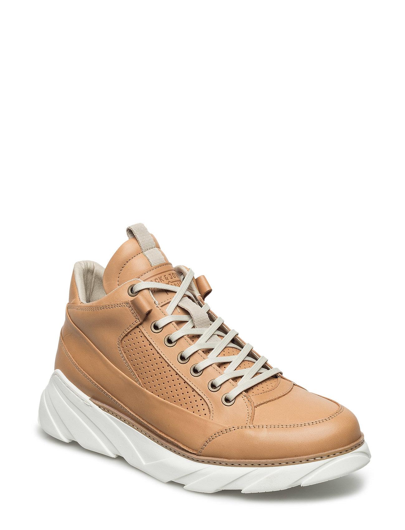 Jfwtuan Fuse Mid Natural Jack & Jones Sneakers til Herrer i Naturlig