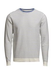 Jack & Jones OLMER O-NECK KNIT 1-2-3 13 ORG