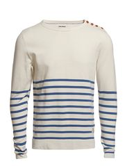 Jack & Jones LARS O-NECK KNIT 1-2-3 13 ORG