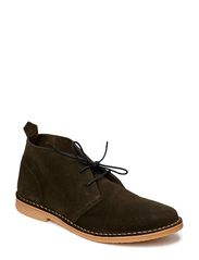JJ GOBI DESERT BOOT SUEDE PRM - OLIVE NIGHT
