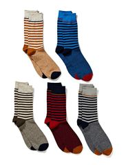 Jack & Jones MABRE SOCK 5-PACK JI 1-2-3 2013