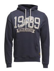 Jack & Jones 50S SPORT HOOD SWEAT 1-2-3 2013