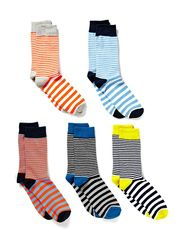 Jack & Jones EDMON SOCK 5-PACK JI 4-5-6 2013