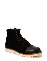 JJ PEPPER SUEDE BOOT CORE - Black