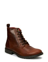 JJ CRUST LEATHER BOOT ORG - Slate Black