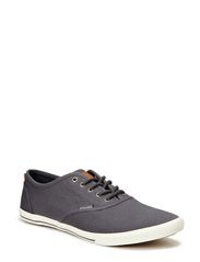 JJ SPIDER GROWN CANVAS CASUAL SHOE ORG - Pewter