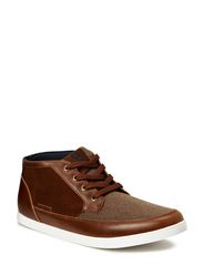 JJ BRAD CANVAS CASUAL HIGH CORE - Bison