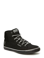 JJ CARDIFF MESH HIGH TOP CORE - Black