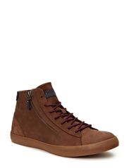 JJ HERO ZIP LEATHER HIGH TOP ORG - Potting Soil