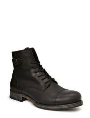 JJ SITI LEATHER BOOT PRM - Black