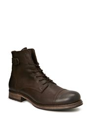 JJ SITI LEATHER BOOT PRM - Brown Stone