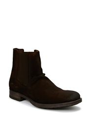 JJ RICHIE SUEDE CHELSEA BOOT JJVC - Brown Stone