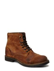 JJ NEWPORT SUEDE BOOT WARM JJVC - Tobacco Brown