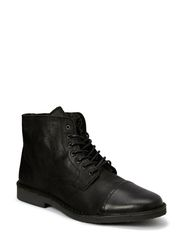 JJ GOBI LEATHER HIGH WARM BOOT PRM - Black