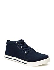 JJ JUNO SUEDE CASUAL HIGH ORG - Dress Blues