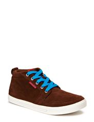 JJ JUNO SUEDE CASUAL HIGH ORG - Potting Soil
