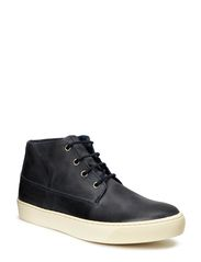 JJ BEAT LEATHER DESERT BOOT ORG - Dress Blues