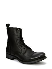 JJ SAVEK LEATHER BOOT WARM PRM - Black