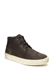 JJ BEAT EMBOSSED DESERT BOOT ORG - Pewter