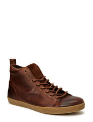 JJ BROTHER LEATHER CASUAL HIGH PRM - Brown Stone