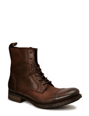 JJ SAVEK LEATHER BOOT PRM - Brown Stone