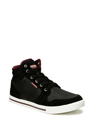 JJ JUNO MIXED HIGH TOP ORG - Black