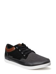 JJBRAD MIXED LOW SNEAKER BLACK - Black