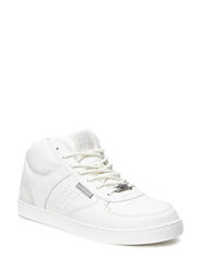 JJDUNC LEATHER MID SNEAKER LILY W - Lily White