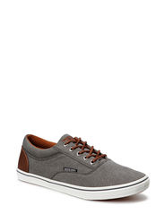 JJVISION CANVAS SNEAKER PEWTER - Pewter