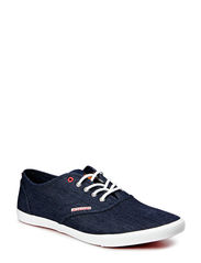 JJSPIDER BASIC CANVAS SNEAKER LIGHT G M - Dress Blues