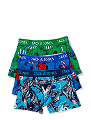 JJTEXT 3-PACK REGULAR TRUNKS - Estate Blue
