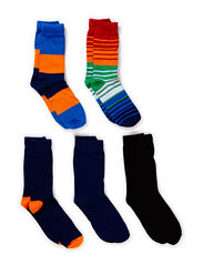 JJSTEPHEN 5-PACK SOCK - Estate Blue