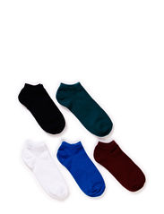 JJBASIC 5-PACK SHORT SOCK - Estate Blue