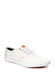 JJSPIDER BASIC CANVAS SNEAKER CLOUD D - Cloud Dancer