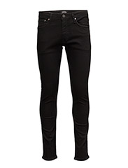 JJIGLENN JJFELIX AM 046 LID NOOS - BLACK DENIM
