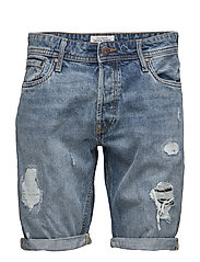 JJIRICK JJORIGINAL SHORTS AM 105 STS - BLUE DENIM